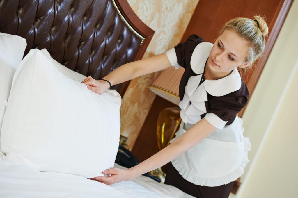 Fanntastisch gesund abnehmen mit Sport - Zimmermädchen