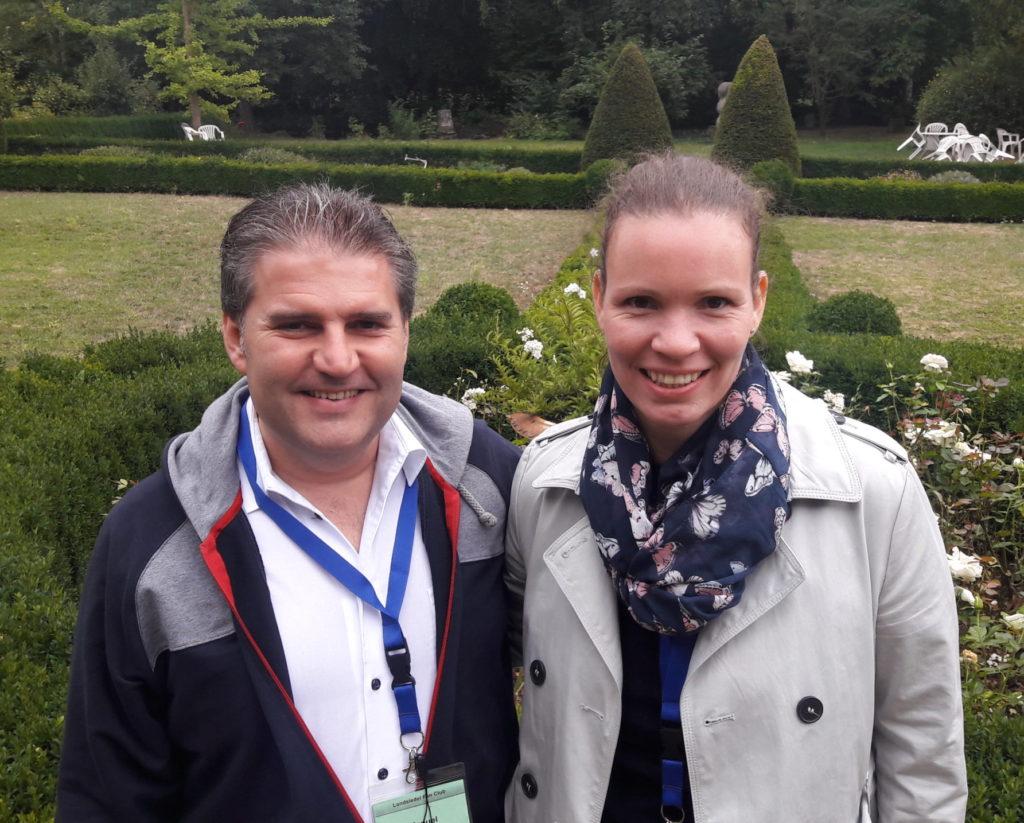 Manuel Gallardo und Fanny Theymann